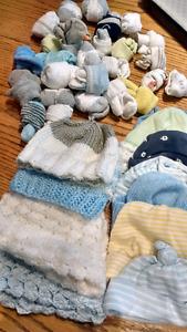 Infant hats and socks