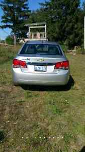 Mint 2011 chevy cruze low km certified and etested for 5750$
