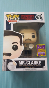 SDCC 2017 Funko Television Pop! Stranger Things Mr.Clarke # 476