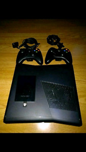 Xbox 360 Slim + 320gb + kinect + games/accessories for sale.