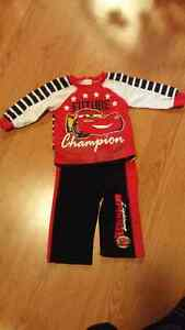 6-12 month Disney Cars outfit