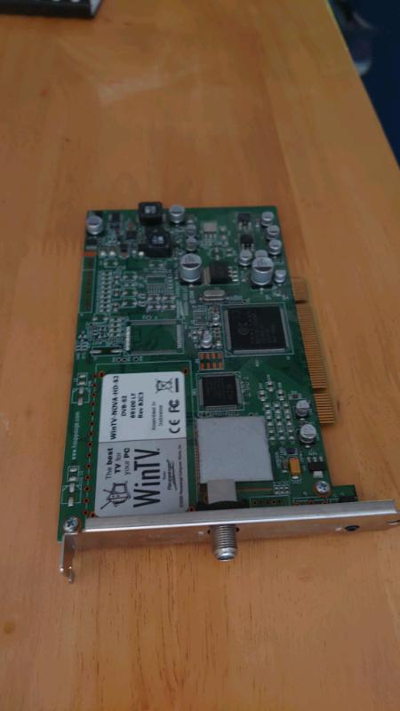 Happauge DVB-S2 Satellite TV card for PC   in Tadley, Hampshire   Gumtree