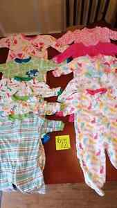 Baby girl clothes 3 to 18