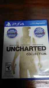 Ps4 uncharted collection mint  Cambridge Kitchener Area image 1