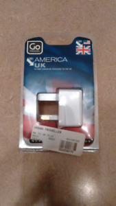 United kingdom power adapter.