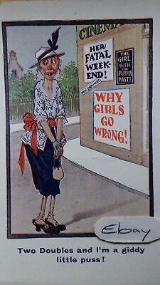 Original suffragette postcard
