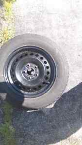 GOODYEAR WINTER TIRES ON RIMS BRAND NEW