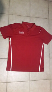 2 Goodlife Uniforms Reebok - Men's Large - Golf Shirt + Zip Up
