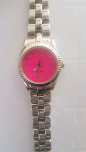 Brand new pink watch