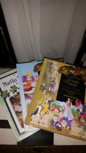 3 Childrens Fairytale Jigsaw Puzzle Book