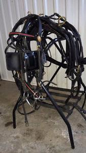 attelage (harnais) pour demi-cheval d environ 500 a 800 livres