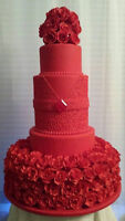 "Custom ""One of a Kind"" Wedding Cakes"