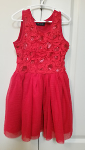 Red dress size 5/6. Only worn once