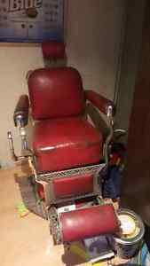 KoKen barbers chair from 50'S