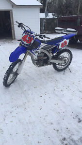 2014 yz450f for sale or trade