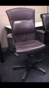 Boardroom Chairs-High End European genuine leather$1600 for 8