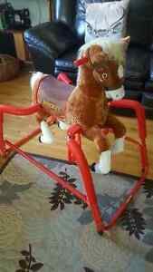 CHEVAL A BASCULE / ROCKING HORSE