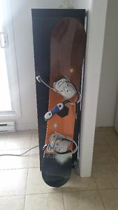 Burton Snowboard + Burton bindings + LTD boots