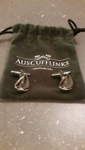 Siver Sailboat Cufflinks BRAND NEW $25.00