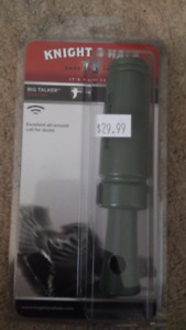 Knight and Hale duck call, big talker, new