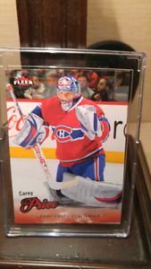 Carey Price hockey card