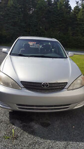 Two 2003 Toyota Camry LE's For Sale