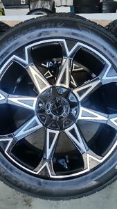 4 NEW STAR WHEELS WITH NEW ANTARES M5 TIRES 265/50/20