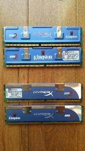 Kingston HyperX DDR2 4x1Gb. 6400 CL4
