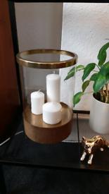Candle holder decoration