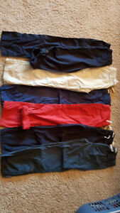 BOYS PANTS SIZE 10 - 6 PIECES FROM PET AND SMOKE FREE HOME