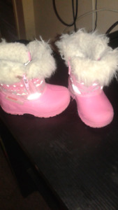 Size 4 baby girl boots