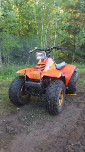 Trade quad for dirtbike
