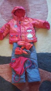 Ensemble d'habit d'hiver (suit de neige) Souris Mini pour garçon