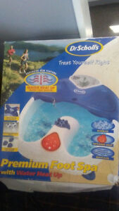 DR SCHOLL FOOT SPA WITH WATER & HEAT