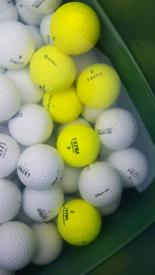 Used ultra golf balls