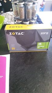 Zotac gt 710 hdmi video card