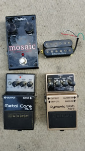 DigiTech and Boss for sale