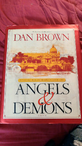 Angels and Demons by Dan Brown Special Illustrated Hard Cover