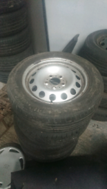 "MINI Countryman Steel Wheels & Tyres 5x120 16"""