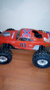 1/8 scale nitro rc 4x4 monster truck