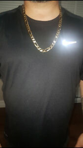 10k solid gold chain 158 grams