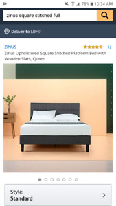 Full / Double bed frame and headboard