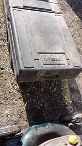 Truck tool box.. black..for 42 inch wide box..$55.00