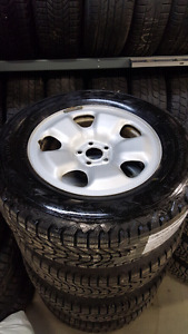 RIM 5X110 + 245/65 R17 FIRESTONE WINTERFORCE