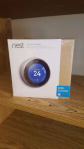BRAND NEW SEALED Nest Learning Thermostat - 2nd Generation