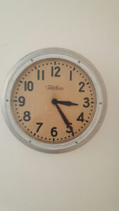 Clock.........Very Old Electric School Clock by Telechron