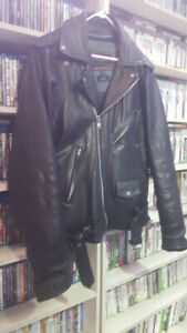 CMC Motorcycle Jacket Leather XL $175 & LOTS OF STUFF FOR SALE!!