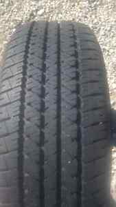 P235 60R16 FIRESTONE FR710 ALL SEASON RADIAL TIRES AS NEW (2) London Ontario image 1