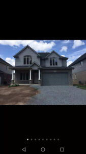 Beautiful Brand new house for lease for $1790+utilities