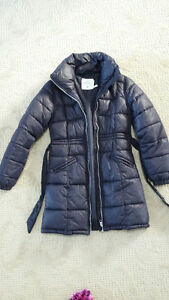 H&M Navy Blue Winter Coat Size11/12 Girls